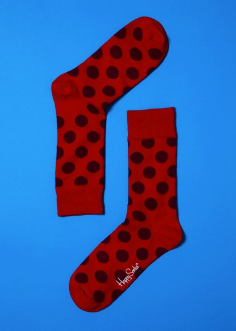 Big Dot 01 - Polka Dot Happy Socks (bd10 - 001)